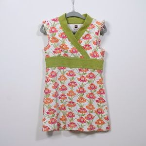 Tea Collection Girls Floral Sleeveless Dress
